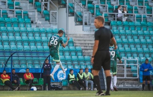 Juri Kolomojets lõi FCI Levadia neljanda värava. Foto: Jana Pipar / jalgpall.ee
