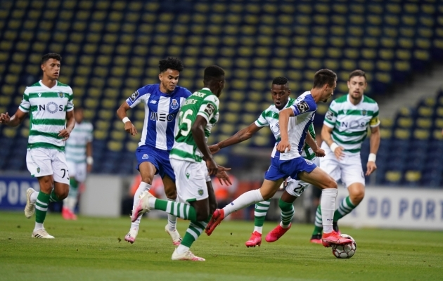 Meistritiitli tagas FC Porto kolmapäevase 2:0 võiduga Lissaboni Sportingu üle. Foto: FC Porto Twitter