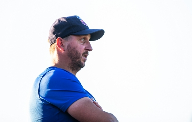 Paide Linnameeskonna peatreener Vjatšeslav Zahovaiko. Foto: Brit Maria Tael