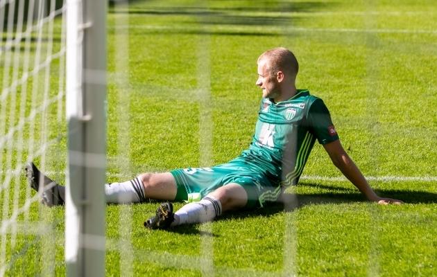 FCI Levadia keskkaitsja Maksim Podholjuzin. Foto: Gertrud Alatare
