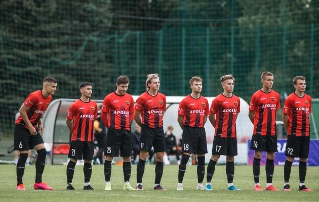 Nõmme Unitedi meeskond. Foto: Jana Pipar / jalgpall.ee