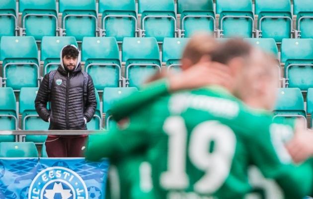 Igor Žurahhovski pole enam kõrvaltvaataja, vaid terve ja valmis mängima. Foto: Jana Pipar / jalgpall.ee