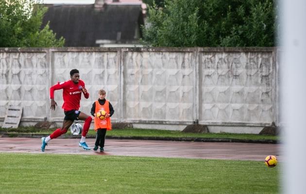 22-aastane ründaja jääb Eestisse hooaja lõpuni, Premium liigas on ta saldos 6 väravat. Foto: Brit Maria Tael
