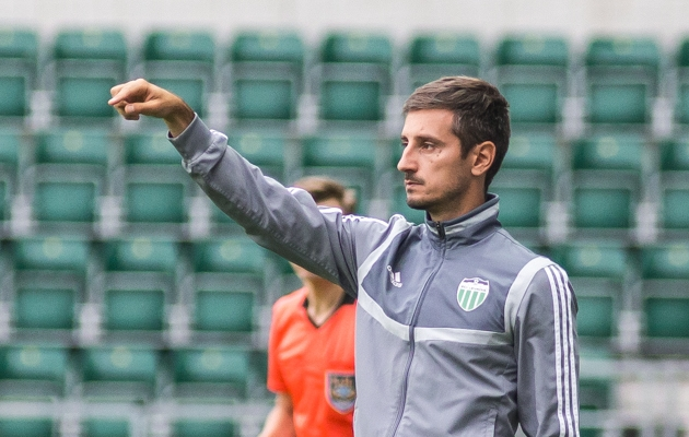 FCI Levadia peatreener Vladimir Vassiljev. Foto: Jana Pipar / jalgpall.ee
