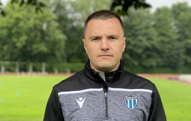 Dmitrijs Kalašnikovs. Foto: JK Tallinna Kalev
