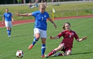 Soccernet.ee näitab järgmisel nädalal Eesti naiste koondise mängust otsepilti