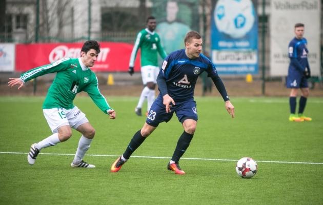 Sillamäe Kalevis oli Lipin üks meeskonna võtmemängijaid. Foto: Jana Pipar / jalgpall.ee