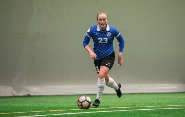 Emma Treiberg. Foto: Jana Pipar / jalgpall.ee