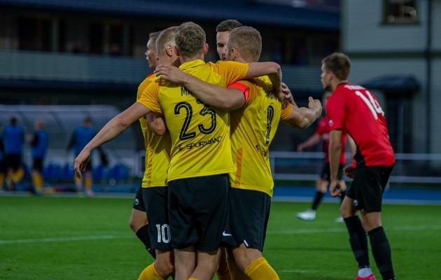 Kui Vaprus ka 2022. aastal Premium liigas mängib, siis võib hooaja lugeda edukaks. Foto: Svetlana  Tšižova