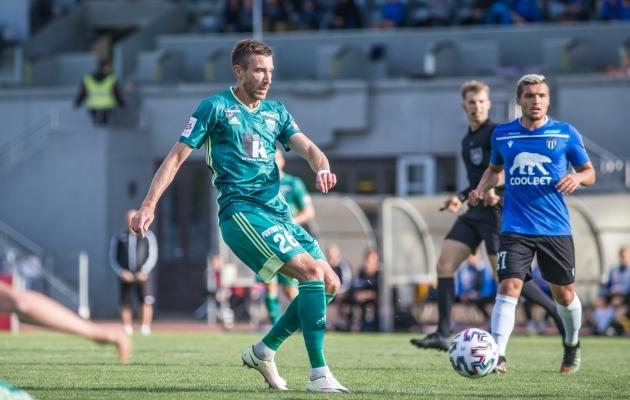 Juri Kolomojets (rohelises) sai hoo üles. Foto: Jana Pipar / jalgpall.ee