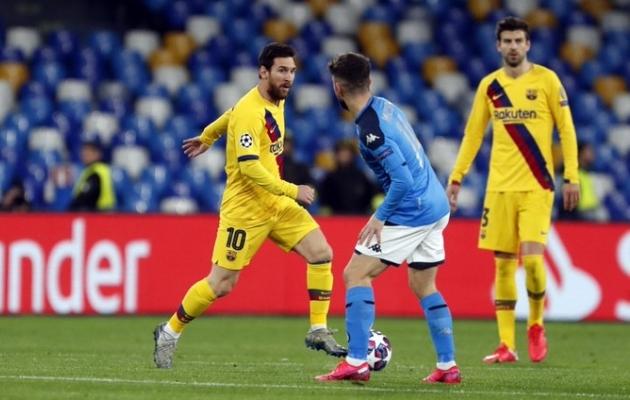 LIVE: Reali saatusega silmitsi seisev Barcelona vajab Messit, Chelsea imet  (Messilt imevärav, Napolilt üks tagasi)