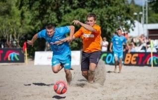 Rannajalgpalli ajalooline hooaeg kulmineerub sel laupäeval Pärnus