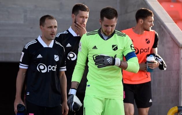 Sander Puri (vasakul) võib naasta palliplatsile. Foto: Imre Pühvel