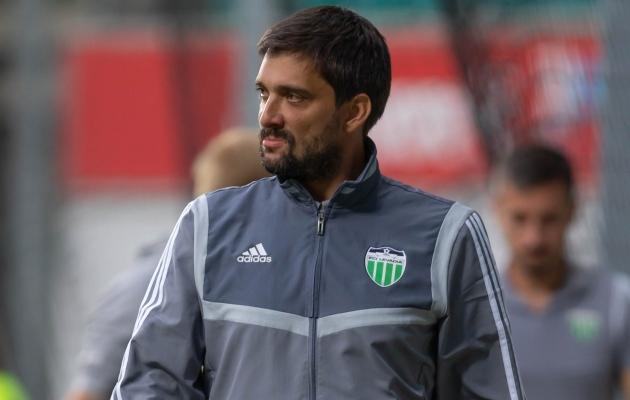 FCI Levadia treener Marko Savic. Foto: Jana Pipar / jalgpall.ee