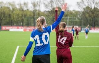 Neidude U17 koondis läheb kodusele Balti turniirile vastu 14 klubi mängijaga