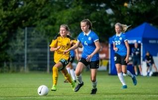 Neidude U17 koondis alistas kodusel Balti turniiril Leedu eakaaslased  (lisatud pildigalerii)