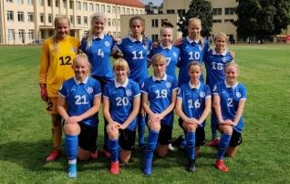 Võit! U15 tüdrukud tegid Balti turniiril puhta töö