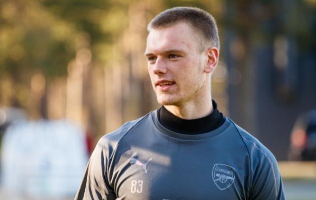 Londoni Arsenali väravavaht Karl Jakob Hein sai esimest korda kutse Eesti A-koondisesse. Foto: Oliver Tsupsman