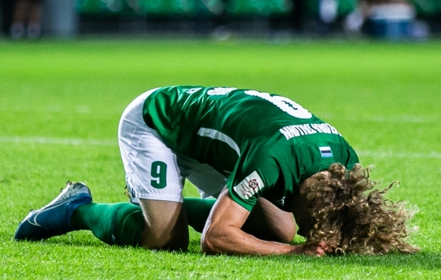 Eesti jalgpalliklubid on kaotanud kõik kolm eurosarjakohtumist, mis tänavu peetud. Foto: Brit Maria Tael