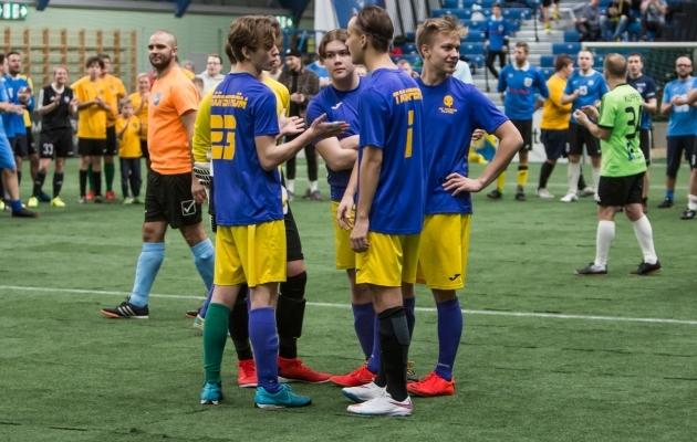 Tatikad Platsil võistkond 2018. aastal Fänniturniiril. Foto: Jana Pipar / jalgpall.ee