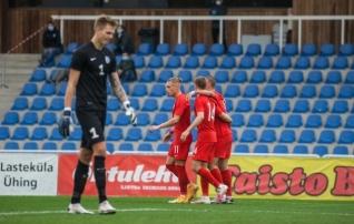VAATA JÄRELE: Eesti U21 jäi pealelöögita ja sai teise 0:6 kaotuse järjest