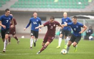 VAATA JÄRELE: Eesti U21 mängis Lätis eduseisu maha, aga teenis punkti