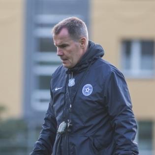 Eesti naiste koondise peatreener Jarmo Matikainen. Foto: Jana Pipar / jalgpall.ee