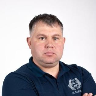 Viljandi Tuleviku ja Suure-Jaani Unitedi ühendnaiskonna peatreener Sergei Vassiljev. Foto: JK Tuleviku kodulehekülg