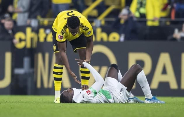 Kaks Borussiat, Dortmund ja Mönchengladbach. Kumb kummale lõpuks ülalt alla vaatab? Foto: Mönchengladbachi Borussia / Twitter