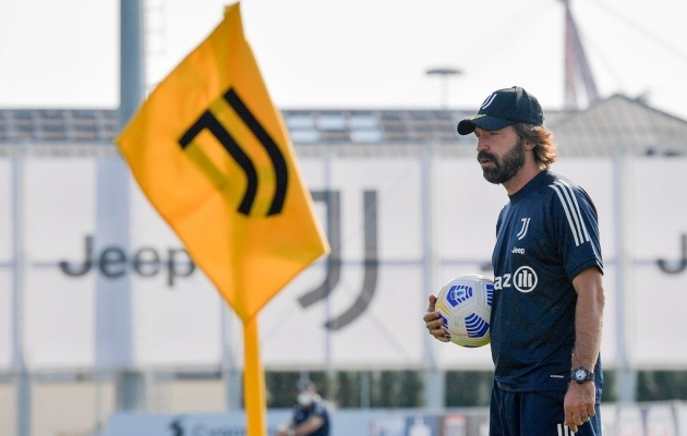 Andrea Pirlo. Foto: Juventuse Twitter