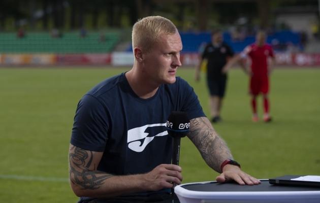 Viljandi Tuleviku peatreener Sander Post. Foto: Jana Pipar / jalgpall.ee