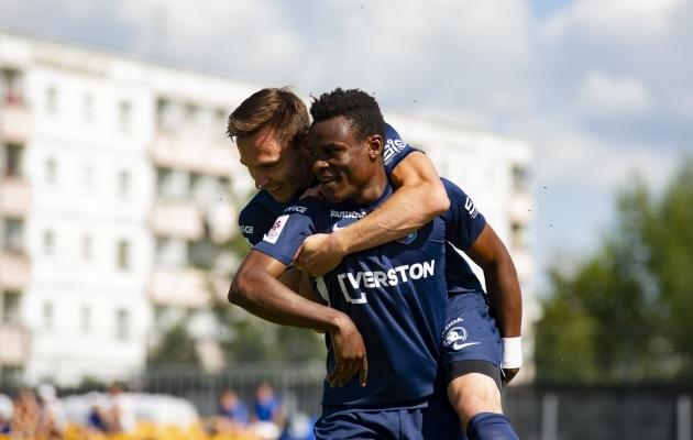 Meeskonna parim väravakütt Edrisa Lubega on klubist lahkunud, aga vääriline asendaja on leitud. Foto: Liisi Troska