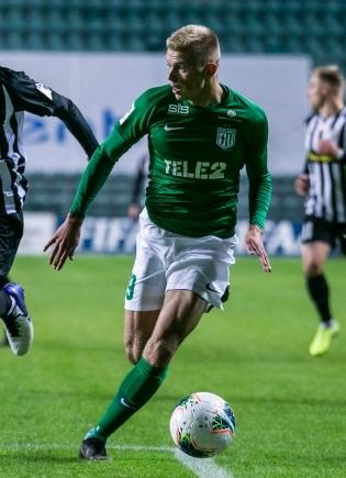 FC Flora ääreründaja Vlasi Sinjavski. Foto: Brit Maria Tael