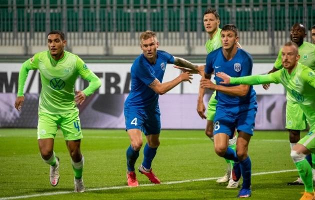 Joonas Tamme mäng sai Saksamaal enneaegselt otsa. Foto: Desna Facebook