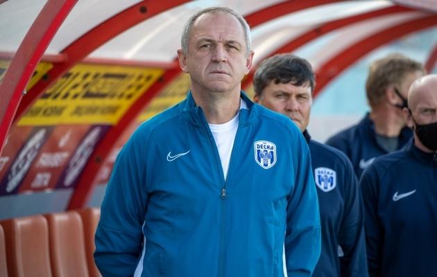 Tšernigivi Desna peatreener Aleksandr Rjabokon. Foto: Desna Facebook