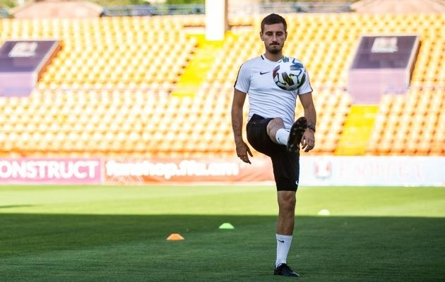 Vassiljev (32) jõudis omal ajal mängijana Premium liigasse. Foto: Brit Maria Tael
