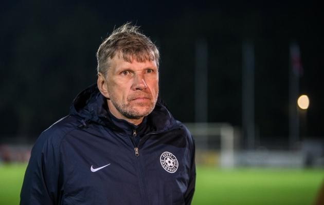 Eesti U21 koondise peatreener. Foto: Jana Pipar / jalgpall.ee