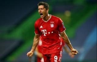 UEFA aasta mängija tiitli pälvis Lewandowski, aasta treeneri oma Flick