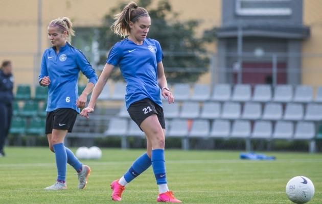 Renate-Ly Mehevets. Foto: Jana Pipar / jalgpall.ee