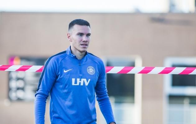 Paide Linnameeskonna ääremängija Edgar Tur on üks neljast jalgpallurist, kes võib homme Leedu vastu oma A-koondise debüüdi teha. Foto: Jana Pipar / jalgpall.ee
