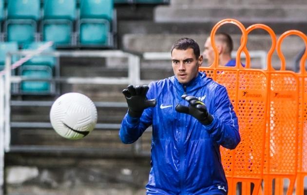 Eesti koondise väravavaht Matvei Igonen. Foto: Jana Pipar / jalgpall.ee