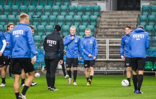 Hetkel viibib Teniste Eesti koondise juures ja valmistub tähtsateks Rahvuste liiga mängudeks. Foto: Jana Pipar / jalgpall.ee