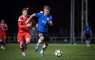 Vallner tõrjus penalti, kuid noortekoondis jäi tugevale Venemaale kindlalt alla