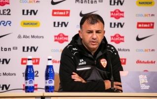 Igor Angelovski: olen pettunud, oleksime pidanud võitma