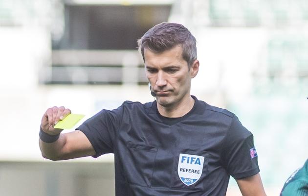 Eesti jalgpallikohtunik Kristo Tohver. Foto: Jana Pipar / jalgpall.ee
