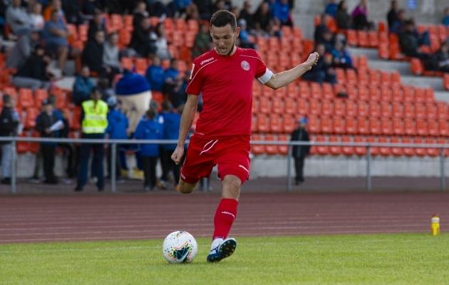 Deniss Vnukov. Foto: Liisi Troska / jalgpall.ee