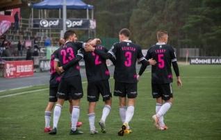 Nõmme Kalju lõi karikasarjas II liiga klubile neli väravat  (järgmine vastane Premium liiga klubi)