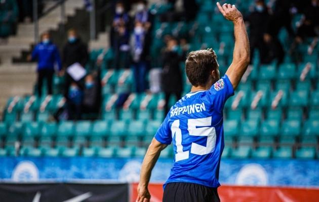 Kas eestlased saavad õhtul käe võidukalt taeva poole tõsta? Foto: Oliver Tsupsman