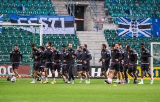Terviseamet tahab Eesti jalgpallikoondise pärast tänast mängu isolatsiooni saata