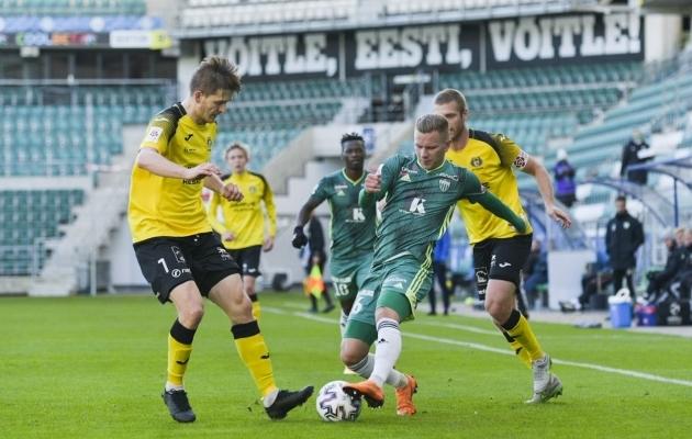 FCI Levadia alistas Viljandi Tuleviku 2:0. Foto: Liisi Troska / jalgpall.ee